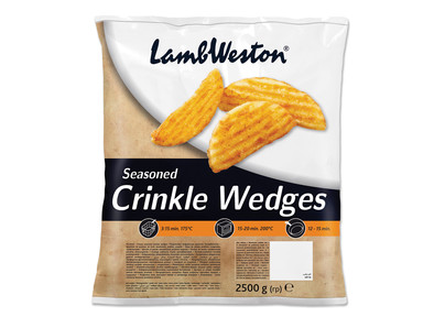 Crinkle Wedges Skin  4x2 5kg LambWeston